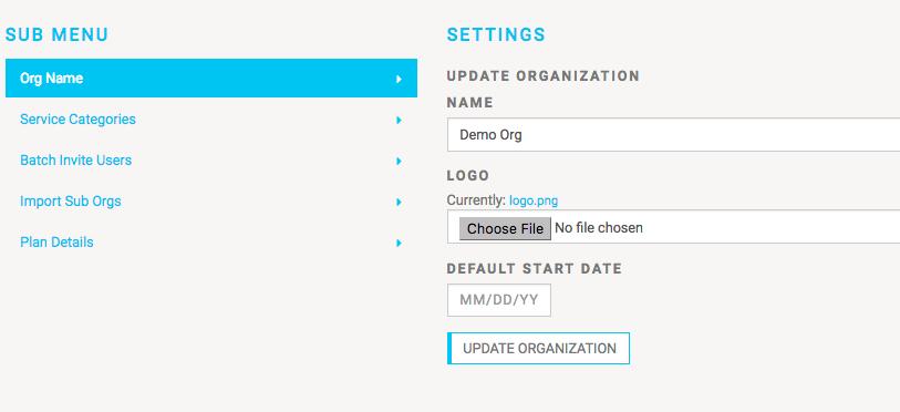 MobileServe App Custom Start Date