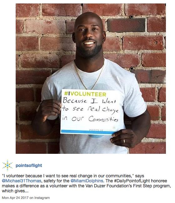 National Volunteer Week #ivolunteer campaign